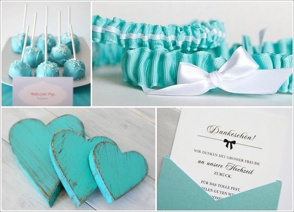 Hochzeit Tuerkis