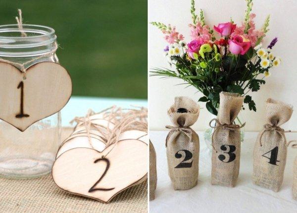 Boch New To You >> Tolle Tischnummern für die Hochzeitstafel im Vintage Stil