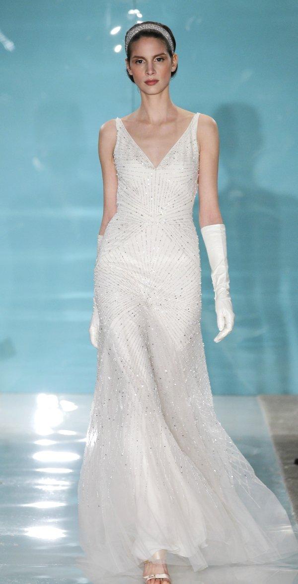 Die Brautmode 2013 wird funkelnd und glitzernd  Friedatheres.com