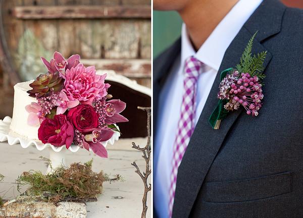 Herbstliche Hochzeitsdeko In Sch 246 Nsten Beerenfarben