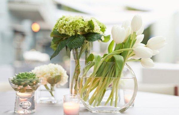 Klassische hochzeitsdekoration for Hochzeitstafel deko