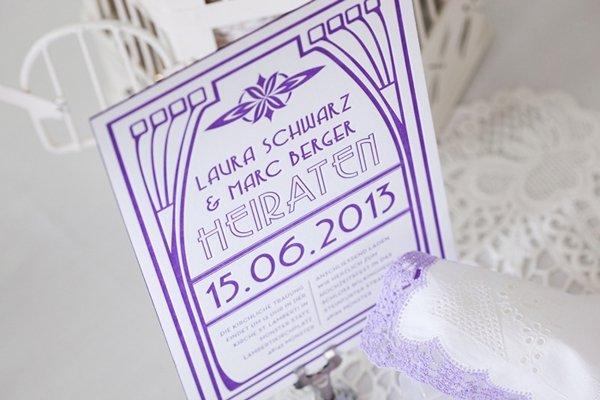 Hochzeitspapeterie im 20er Jahre Design (14)