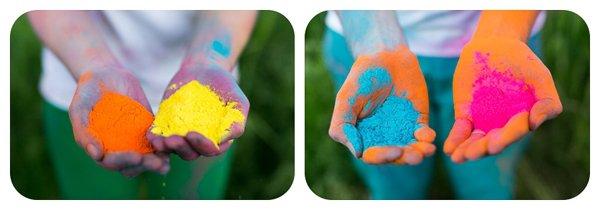 Verlobungsbilder mit Farbpuder (11)