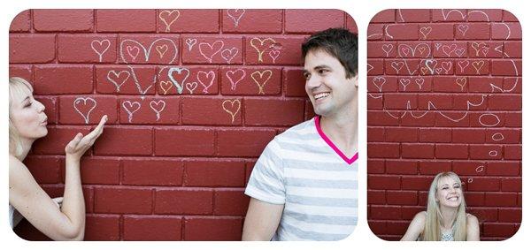 Verlobungsbilder mit Farbpuder (3)