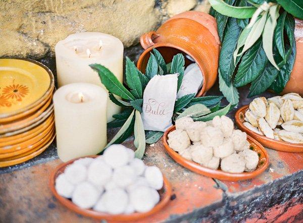 Hochzeitsdeko mit mediterranem Flair  Friedatheres.com