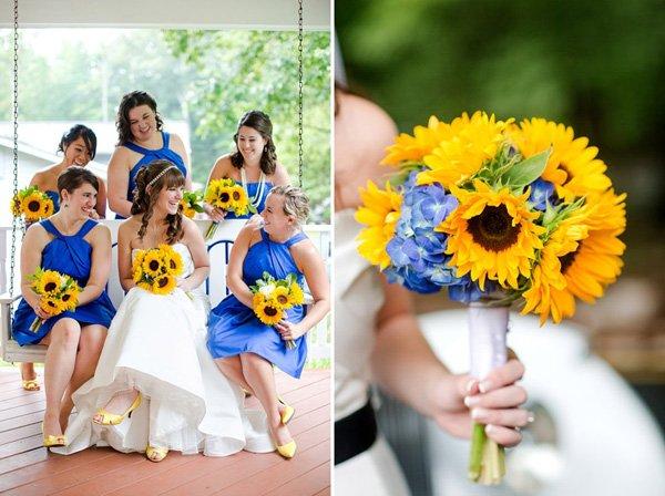 Sommerhochzeit mit Sonnenblumen (5)