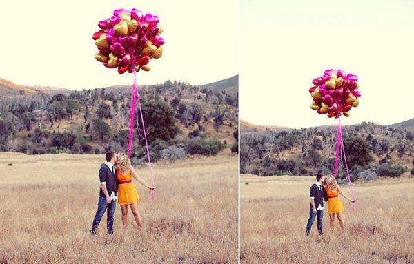Verlobungsbilder Luftballon (2)