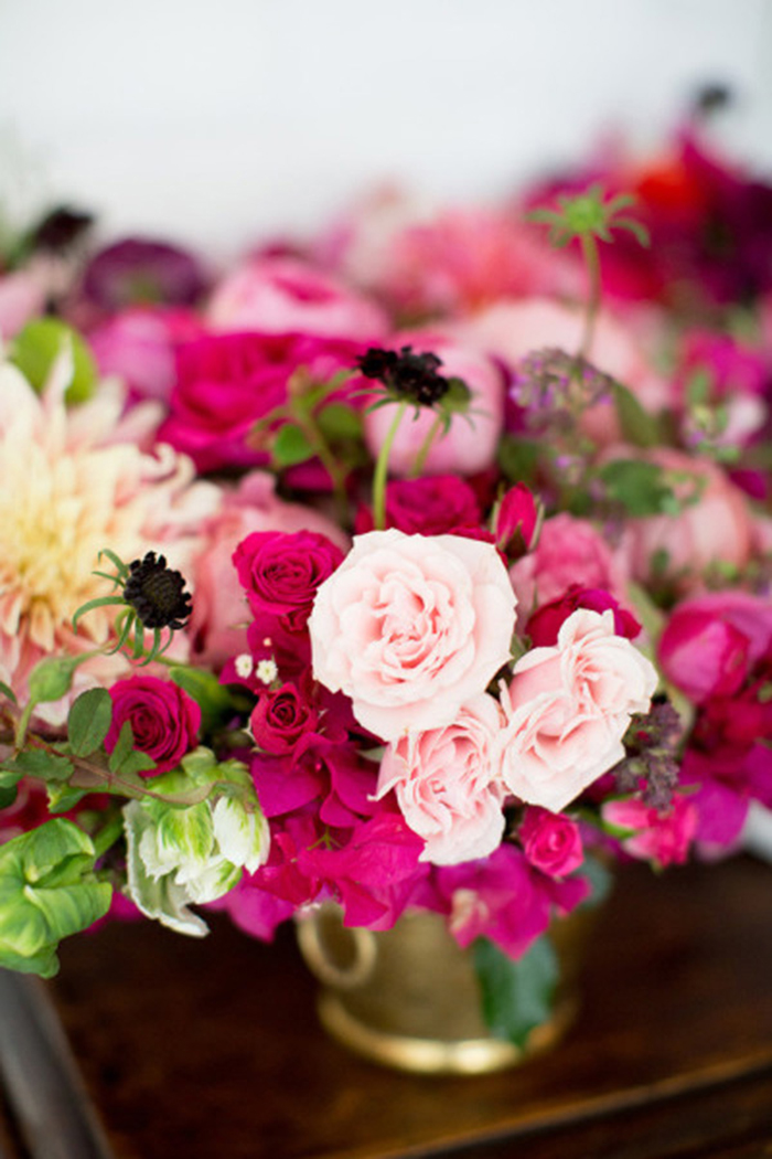 Pink Und Wei Als Hochzeitsdeko