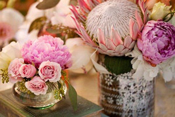 Protea Hochzeitsdeko
