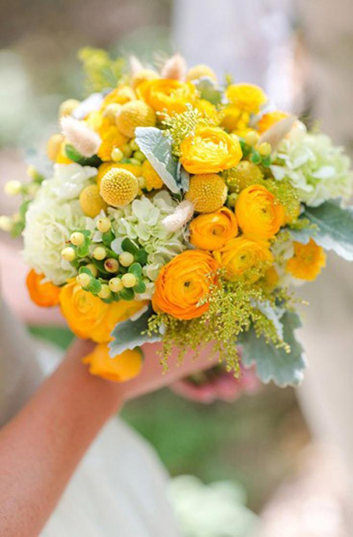 Brautstrauss gelb (14)