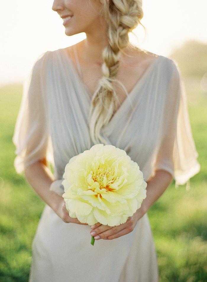 Brautstrauss gelb (6)
