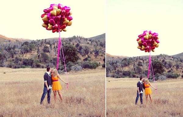 Hochzeit Luftballons (2)