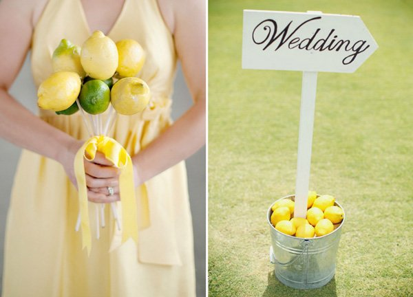 Hochzeitsdekoration Zitronen (1)