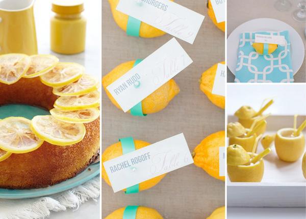 Hochzeitsdekoration Zitronen (2)