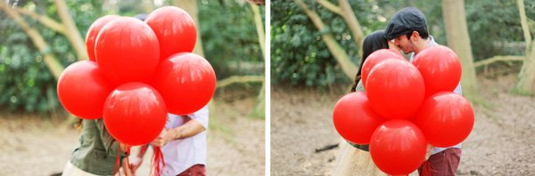 Luftballon hochzeit rot(2)