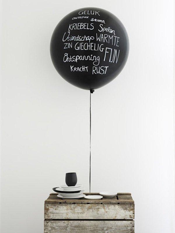 Luftballon hochzeit schwarz (1)