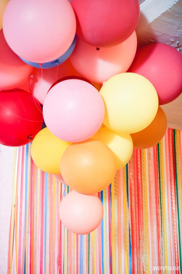 Luftballon hochzeit schwarz (3)