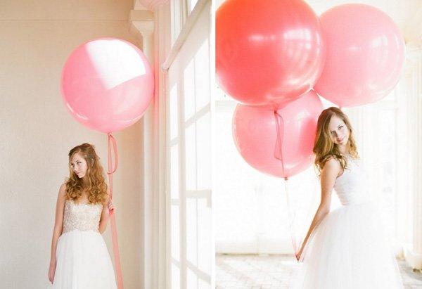 ballons rosa