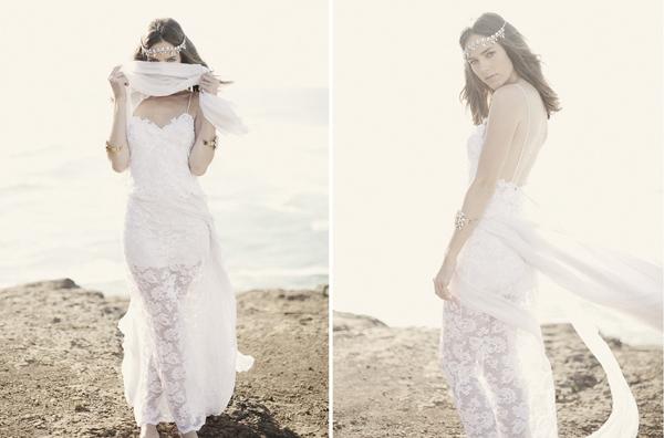 Hochzeitskleider hippie  Hochzeitskleid