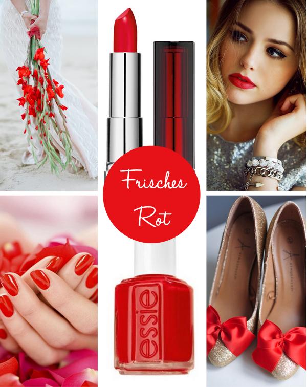 rote lippen braut