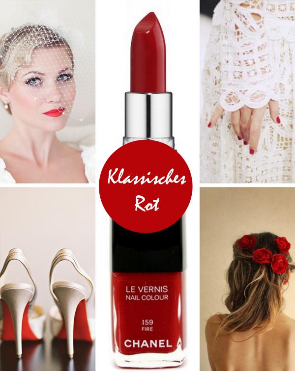rote lippen hochzeit