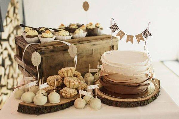 Hochzeitstorte Herbst