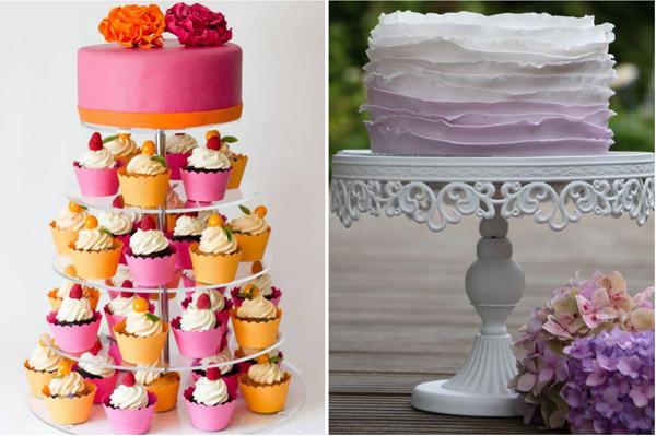 Cupcake Torte Hochzeit