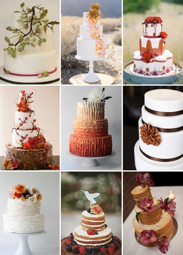 Hochzeitstorte Herbst Pictures to pin on Pinterest