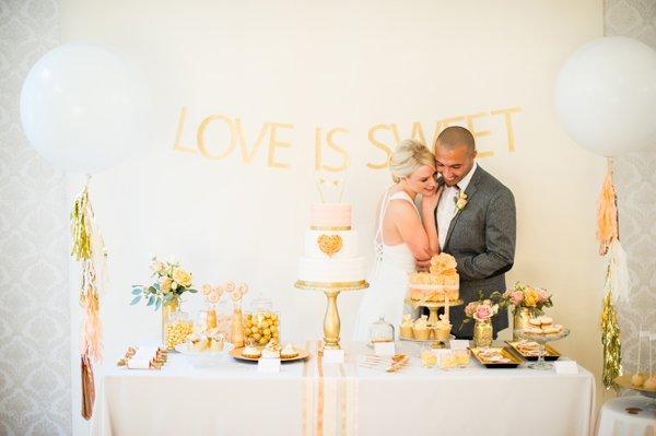 Hochzeit Gold Rosa (23)