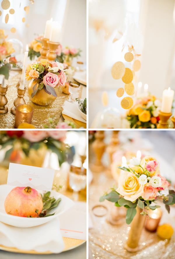 Hochzeit Gold Rosa (40)