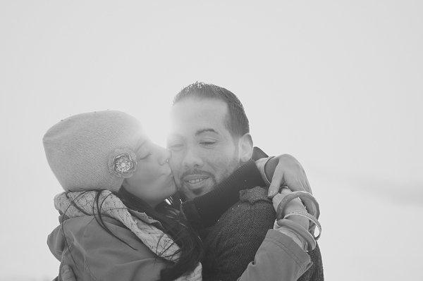Verlobungsfotos im Schnee (33)