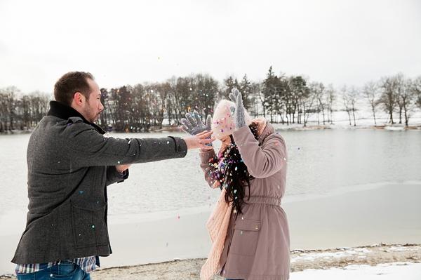Verlobungsfotos im Schnee (433)