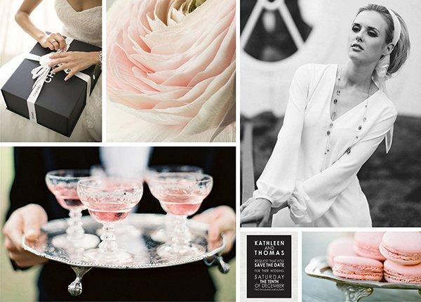 Hochzeit Chanel Stil