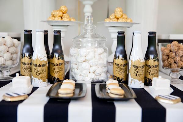 Candybar Hochzeit schwarz weiss (4)