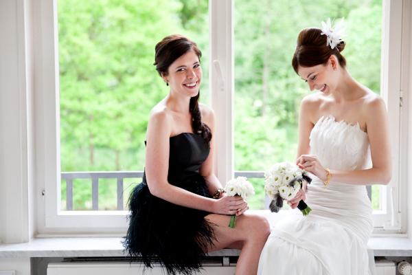 Hochzeit schwarz weiss (29)