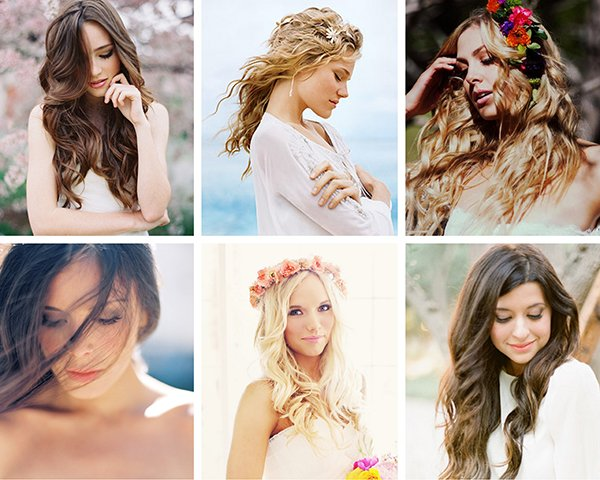 Beach waves wedding