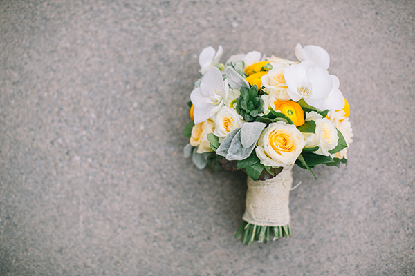 Hochzeitsdeko Gelb und Mint (25)