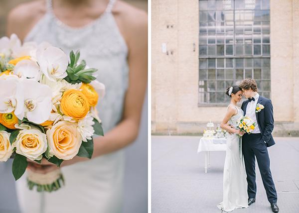 Hochzeitsdeko Gelb und Mint (40)
