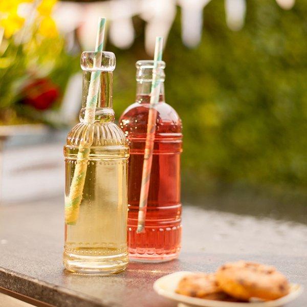 kleine glasflaschen hochzeit