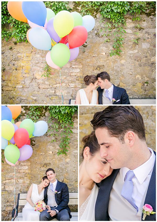 Luftballons Hochzeit (1)