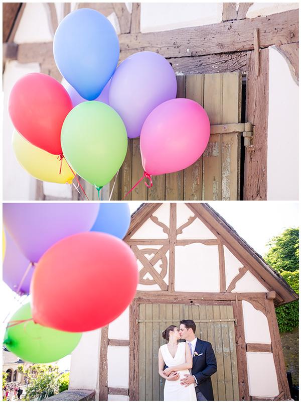 Luftballons Hochzeit (2)