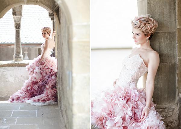 Brautkleid rosa (1)