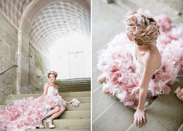 Brautkleid rosa (3)