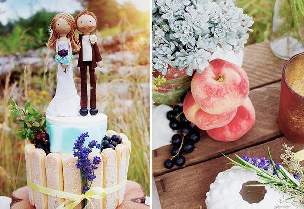 Caketopper Brautpaar