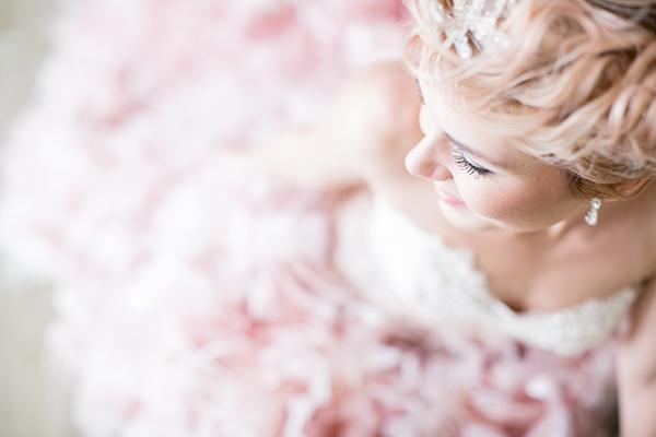 Hochzeit rosa Brautkleid (4)