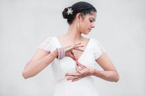 Brautmode Hochzeit indisch (15)