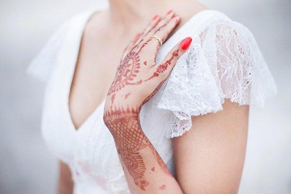 Brautmode Hochzeit indisch (17)
