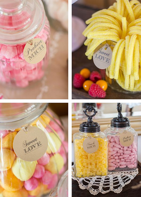 Candybar Ideen Hochzeit