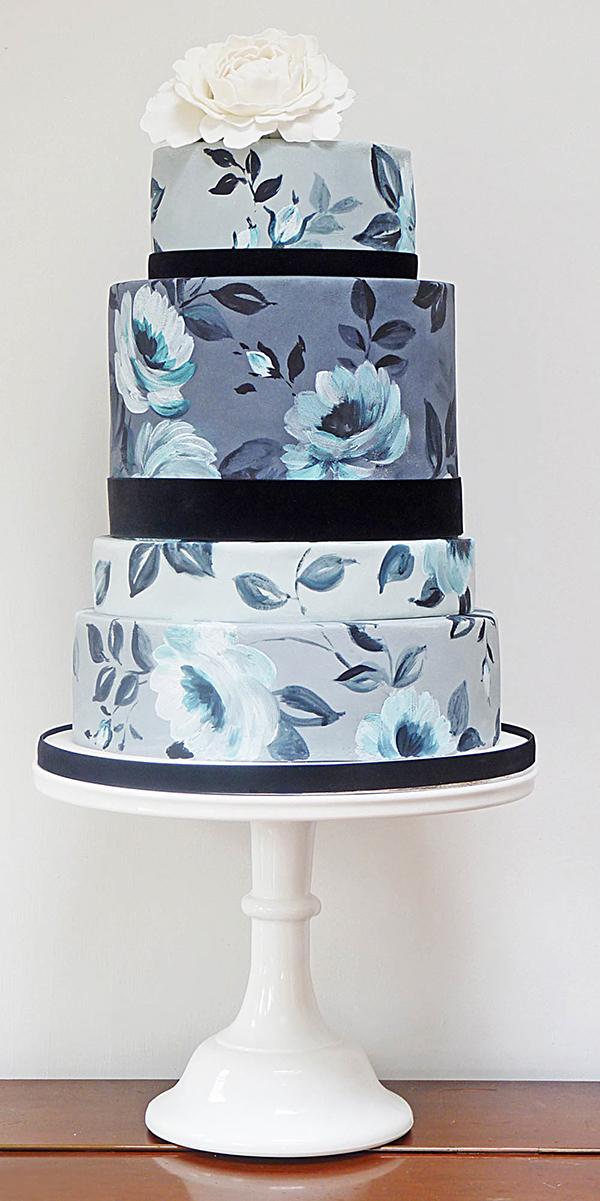 Hochzeitstorte blau (3)