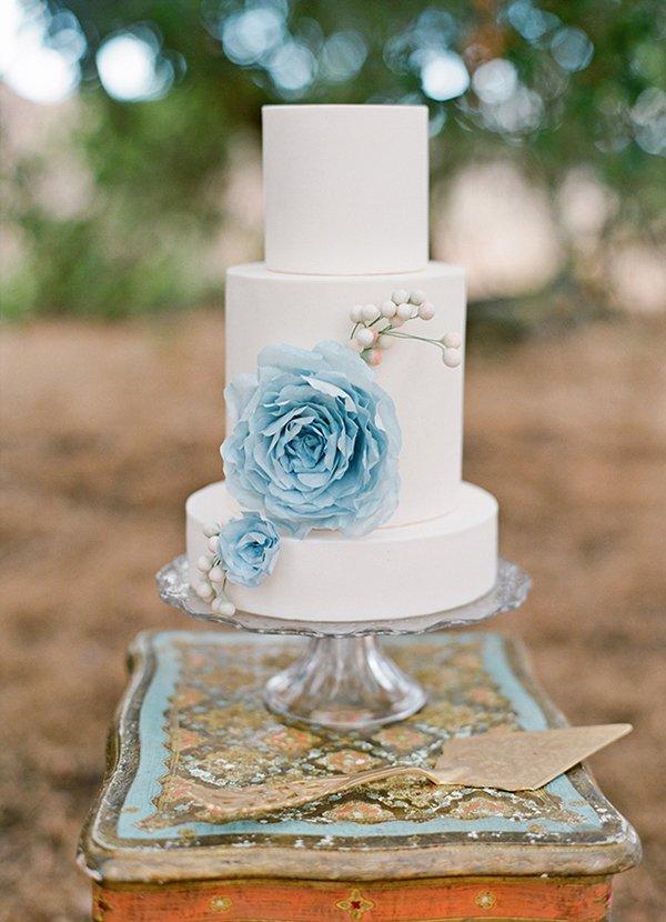 Hochzeitstorte blau (5)
